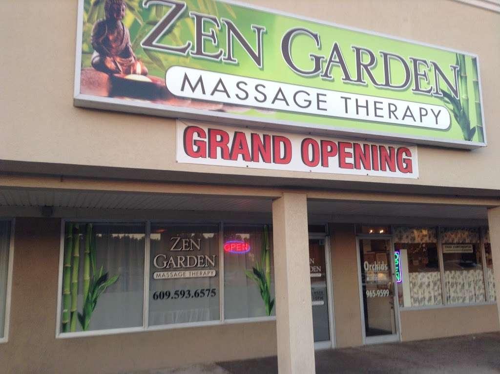 Zen Garden Massage Therapy - physiotherapist    Photo 2 of 3   Address: 269 W White Horse Pike, Pomona, NJ 08240, USA   Phone: (609) 593-6575