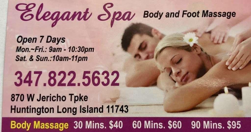 Elegant Spa - spa  | Photo 5 of 6 | Address: 6042, 870 W Jericho Turnpike, Huntington, NY 11743, USA | Phone: (347) 822-5632