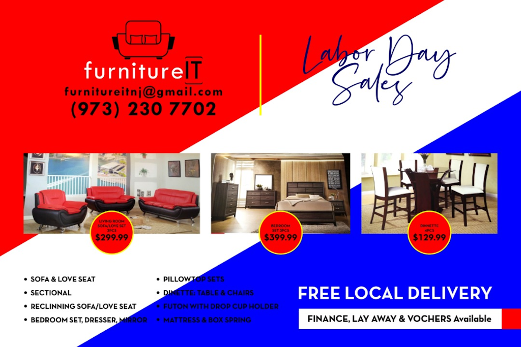 Furniture IT - furniture store  | Photo 10 of 10 | Address: 548 Springfield Ave, Newark, NJ 07103, USA | Phone: (973) 230-7702