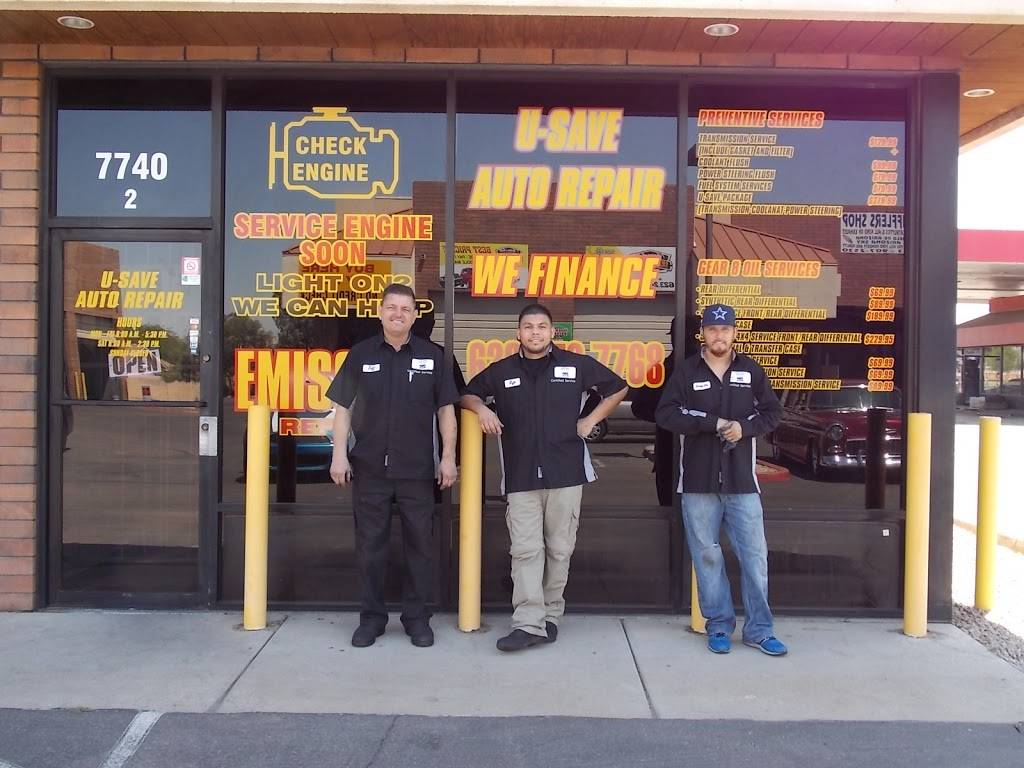 U-SAVE AUTO REPAIR - car repair  | Photo 1 of 9 | Address: 7740 W Indian School Rd building #2, Phoenix, AZ 85033, USA | Phone: (623) 873-7768