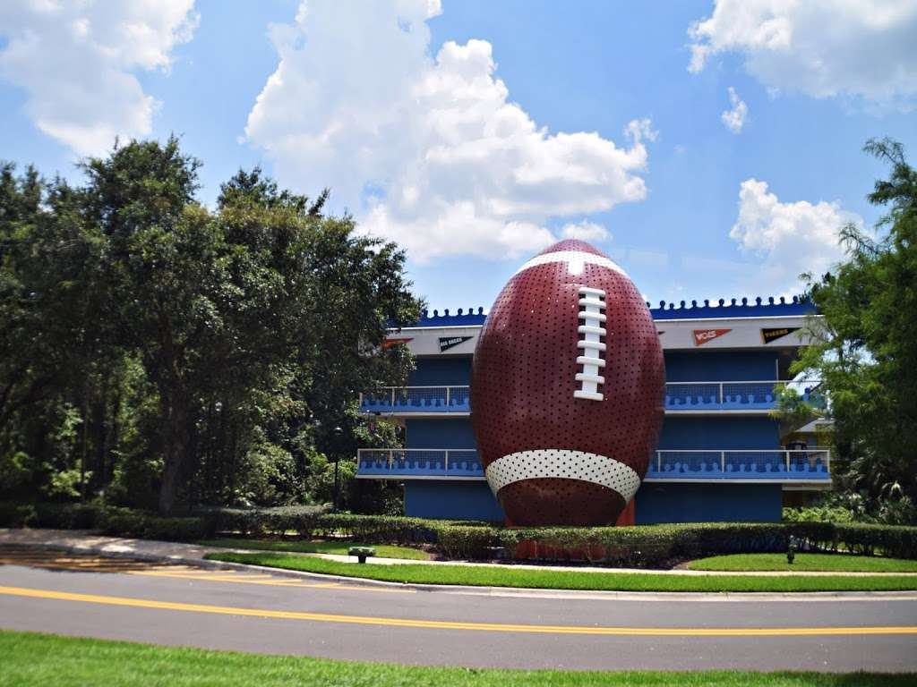 Disneys All-Star Sports Resort - bus station    Photo 6 of 10   Address: Bay Lake, FL 34747, USA