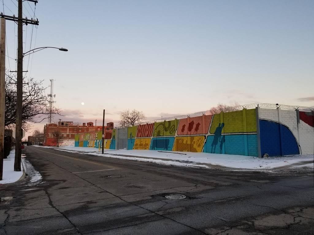 The Illuminated Mural - museum  | Photo 3 of 10 | Address: 2967 E Grand Blvd, Detroit, MI 48202, USA | Phone: (248) 885-4156