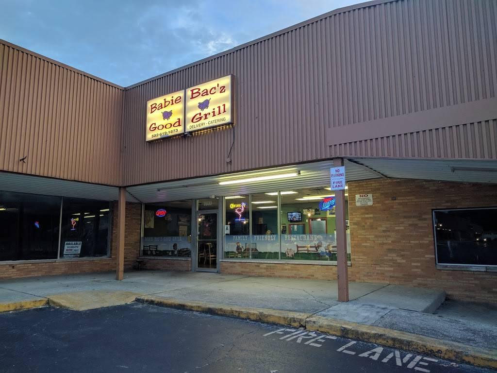 Babie Bacz Good Grill - restaurant    Photo 1 of 9   Address: 8533 Terry Rd, Louisville, KY 40258, USA   Phone: (502) 619-1873