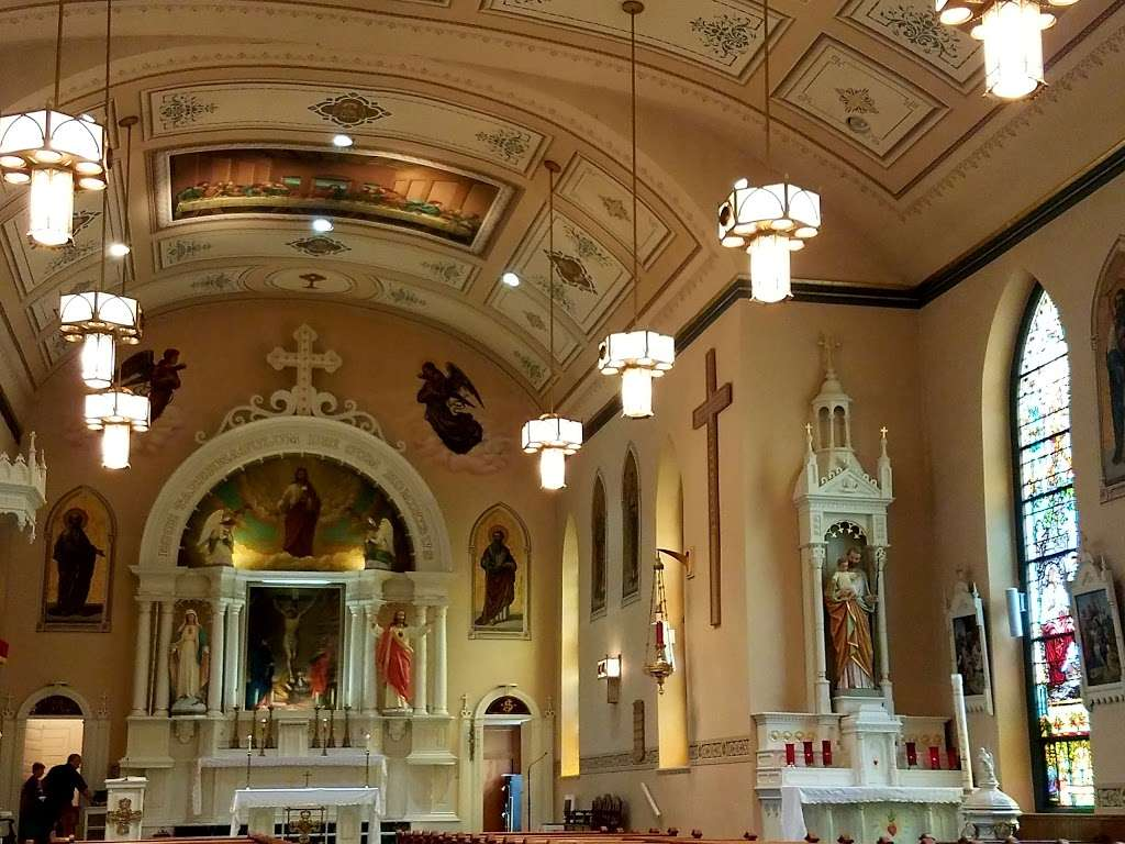 Most Blessed Sacrament Church, 610 Pine St, Bally, PA ...
