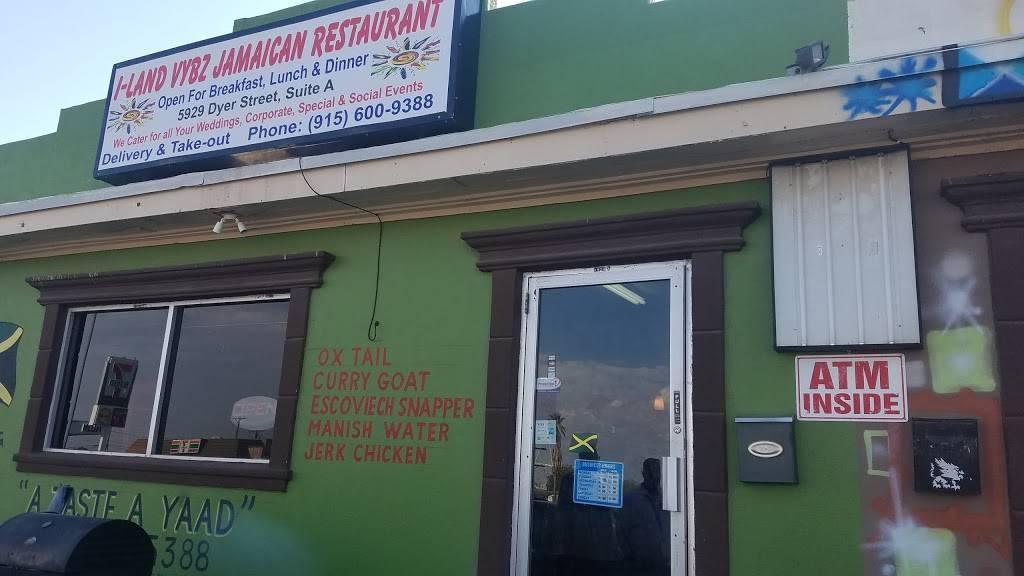 I-Land Vybz Jamaican Restaurant - restaurant  | Photo 4 of 10 | Address: 5929 Dyer St A, El Paso, TX 79904, USA | Phone: (915) 234-2754
