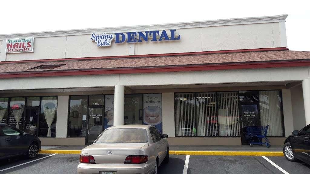 Spring Lake Dental - dentist    Photo 1 of 1   Address: 1192 Havendale Blvd NW, Winter Haven, FL 33881, USA   Phone: (863) 297-6555