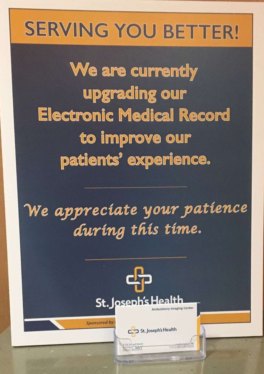 St. Josephs Ambulatory Imaging Center - health  | Photo 3 of 9 | Address: 1135 Broad St #4, Clifton, NJ 07013, USA | Phone: (973) 569-6300