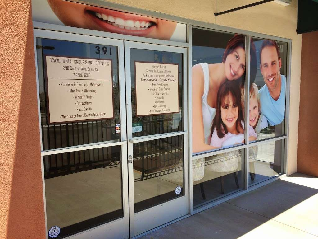 Bravo Dental Group - dentist    Photo 2 of 6   Address: 391 W Central Ave, Brea, CA 92821, USA   Phone: (714) 987-6916