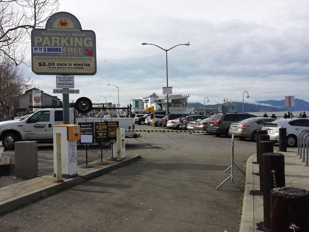 SP+ Parking - parking    Photo 7 of 10   Address: Pier 45, San Francisco, CA 94133, USA   Phone: (650) 219-5855