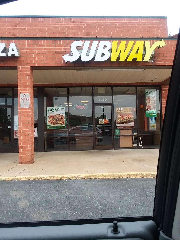 Subway - meal takeaway  | Photo 1 of 3 | Address: 408 W Gordon Ave Suite D, Gordonsville, VA 22942, USA | Phone: (540) 832-7891