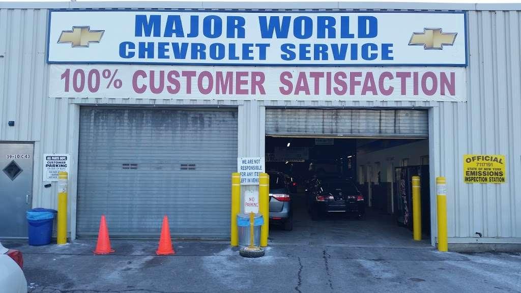 Major World Chevrolet Service - car repair  | Photo 5 of 10 | Address: 39-10 43rd St, Long Island City, NY 11101, USA | Phone: (718) 392-8605