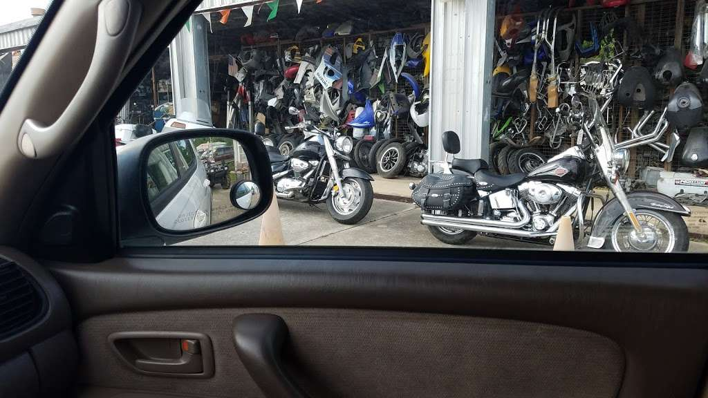 Houston Motorcycle Salvage - car repair  | Photo 2 of 5 | Address: 3317 Red Bluff Rd, Pasadena, TX 77503, USA | Phone: (713) 472-0045