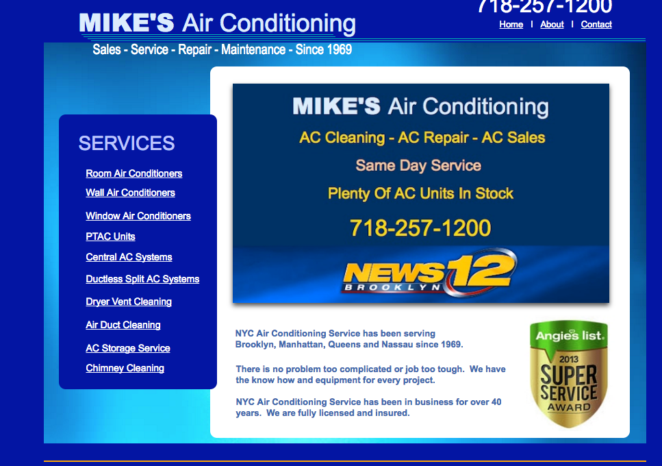 Mikes Air Conditioning - home goods store  | Photo 2 of 3 | Address: 167 Division Ave #202, Brooklyn, NY 11211, USA | Phone: (718) 257-1200