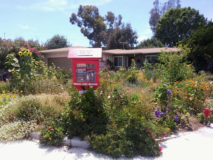 Little Free Library on Atherton Drive #18216 - library  | Photo 1 of 1 | Address: 7100 E Atherton Dr, Long Beach, CA 90815, USA