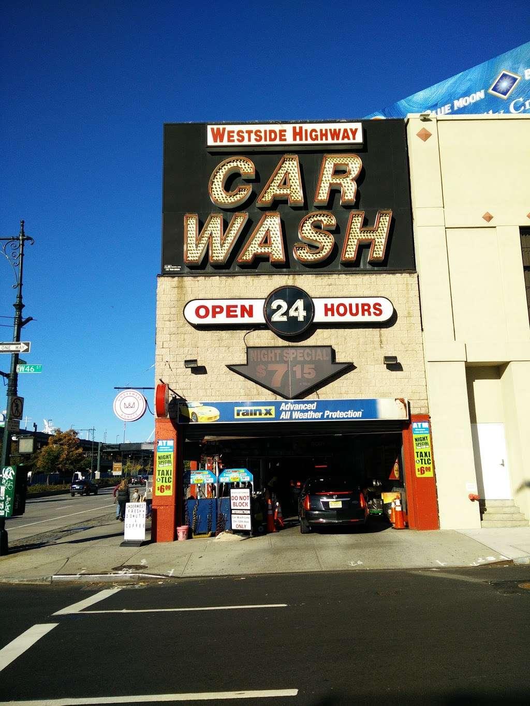 Westside Highway Car Wash - car wash    Photo 9 of 10   Address: 638 W 46th St, New York, NY 10036, USA   Phone: (212) 757-1141