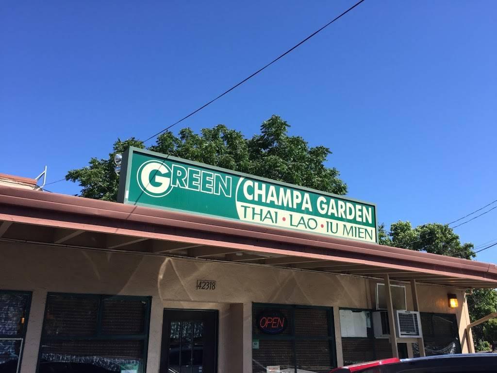 Green Champa Garden - restaurant  | Photo 3 of 10 | Address: 42318 Fremont Blvd, Fremont, CA 94538, USA | Phone: (510) 490-1500