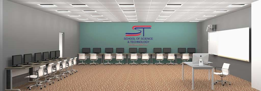 The School of Science & Technology - Excellence (SST Excellence) - school  | Photo 8 of 10 | Address: 330 N Sam Houston Pkwy E, Houston, TX 77060, USA | Phone: (832) 672-6671