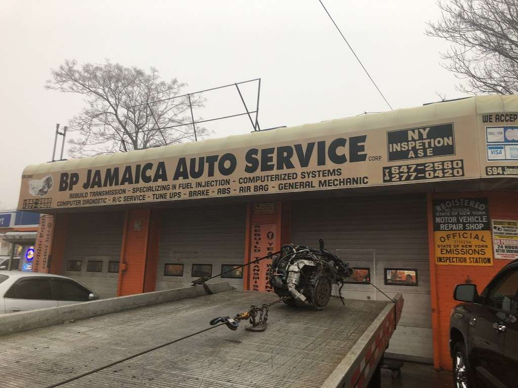 BP Auto Service - car repair    Photo 1 of 4   Address: 594 Jamaica Ave, Brooklyn, NY 11208, USA   Phone: (718) 647-2580