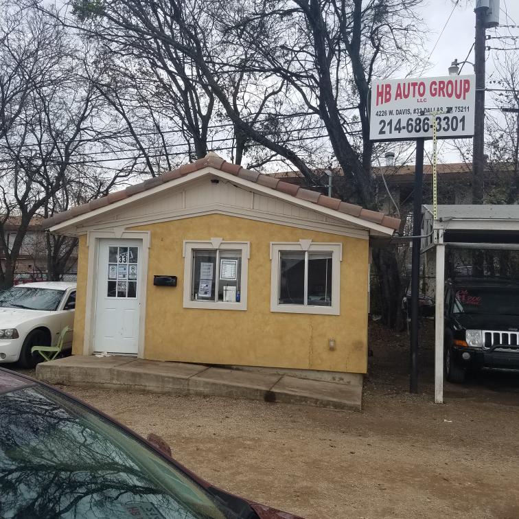 Hb auto group LLC - car dealer  | Photo 2 of 4 | Address: 4226 W Davis St, Dallas, TX 75211, USA | Phone: (469) 268-5286