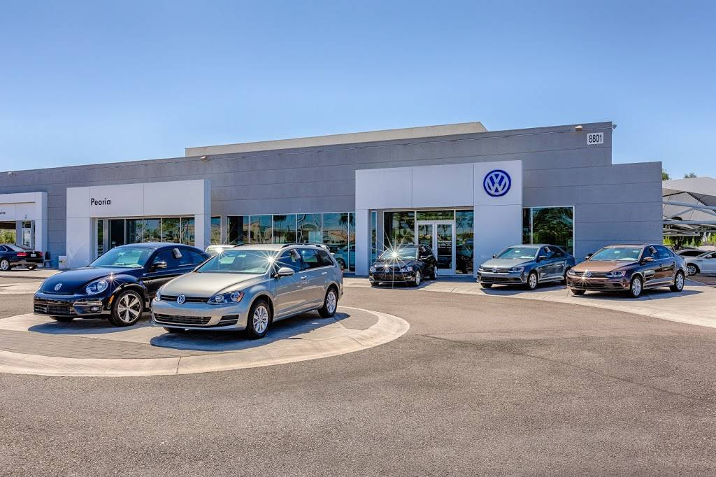 Lundes Peoria Volkswagen - car dealer    Photo 1 of 9   Address: 8801 W Bell Rd, Peoria, AZ 85382, USA   Phone: (623) 875-4000