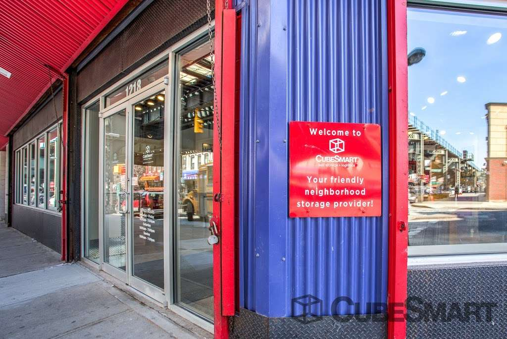 CubeSmart Self Storage - moving company    Photo 10 of 10   Address: 1220 Broadway, Brooklyn, NY 11221, USA   Phone: (718) 574-2194