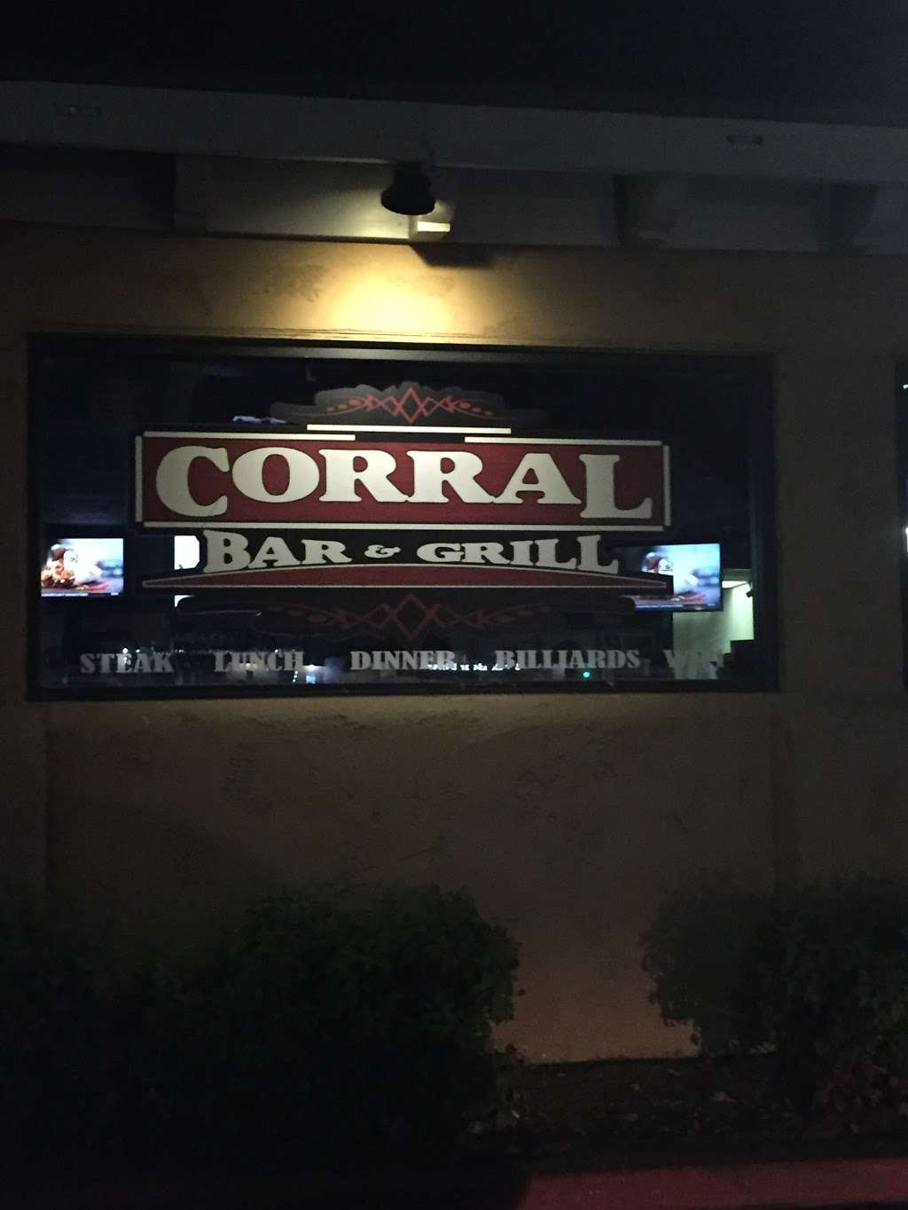 Corral Bar & Grill - restaurant    Photo 5 of 10   Address: 12345 Mountain Ave # A2, Chino, CA 91710, USA   Phone: (909) 613-5995