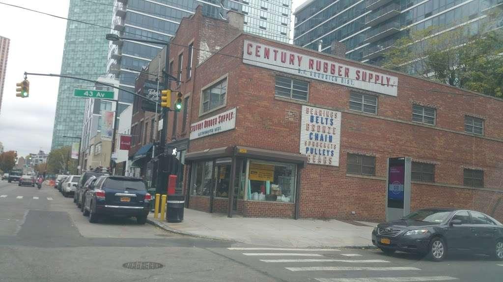 Century Rubber Supply Co - hardware store  | Photo 1 of 2 | Address: 2627 Jackson Ave, Long Island City, NY 11101, USA | Phone: (718) 729-7491