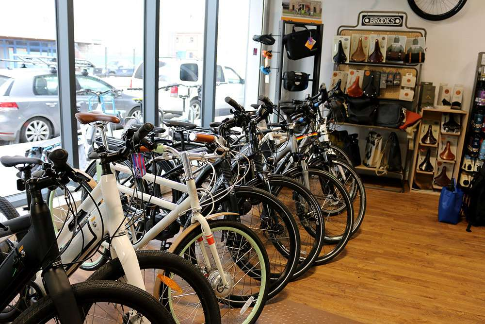 Propel Electric Bikes - bicycle store  | Photo 4 of 10 | Address: 134 Flushing Ave, Brooklyn, NY 11205, USA | Phone: (718) 643-4542