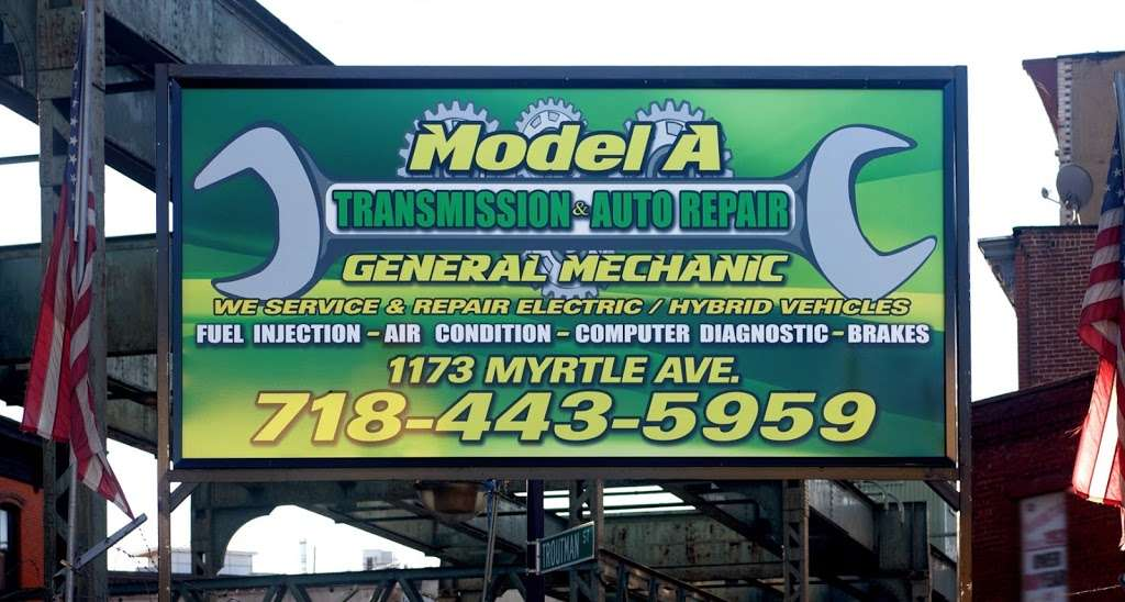 Model A Transmission & Auto Repair - car repair  | Photo 4 of 5 | Address: 1173 Myrtle Ave, Brooklyn, NY 11221, USA | Phone: (718) 443-5959