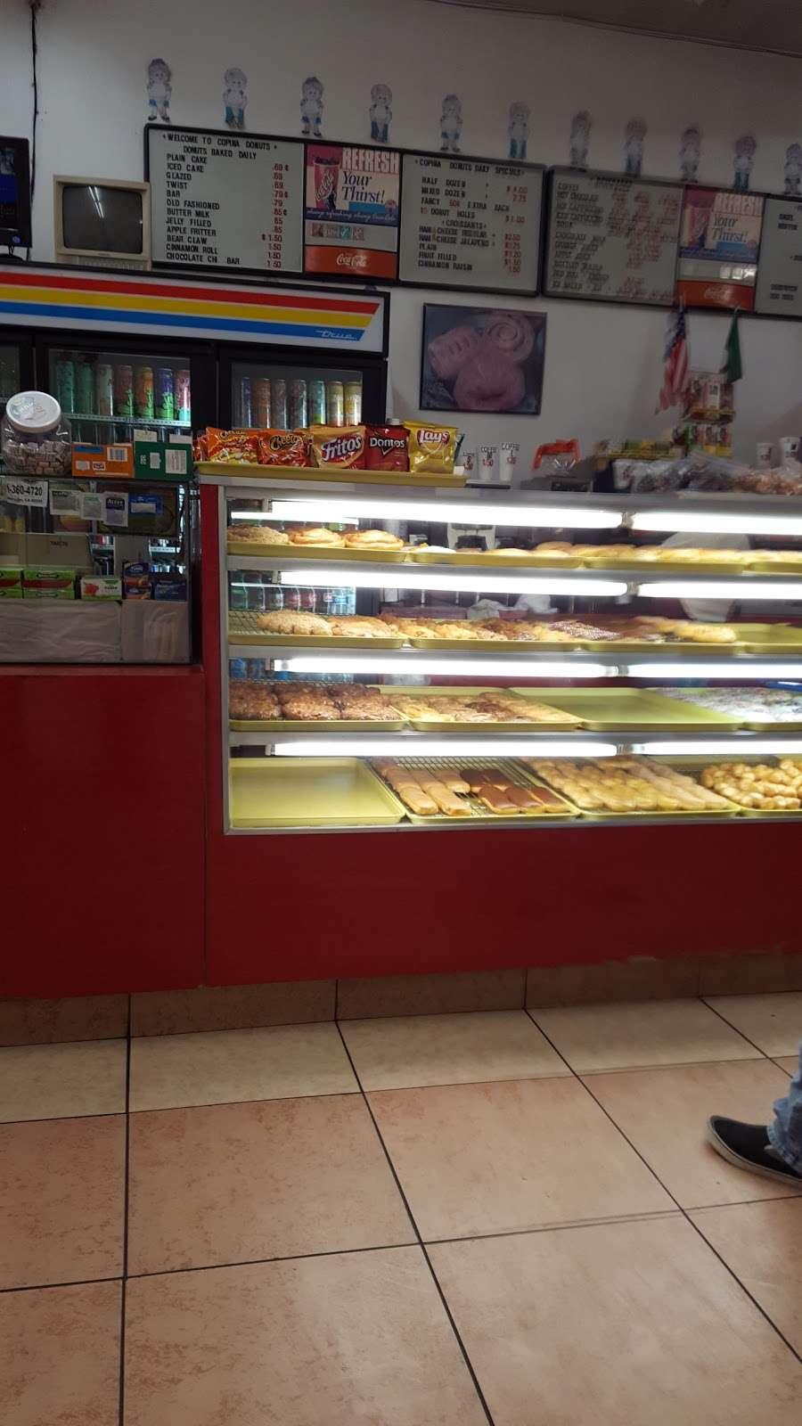 Copina Donuts - bakery  | Photo 2 of 3 | Address: 9007 Mission Boulevard, Riverside, CA 92509, USA | Phone: (951) 685-1332
