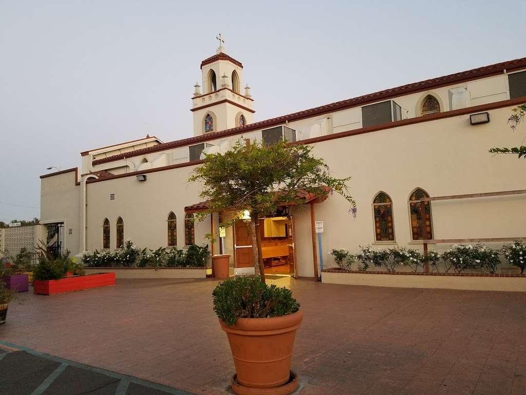 St. Anne Church - church  | Photo 9 of 10 | Address: 1344 S Main St, Santa Ana, CA 92707, USA | Phone: (714) 835-7434