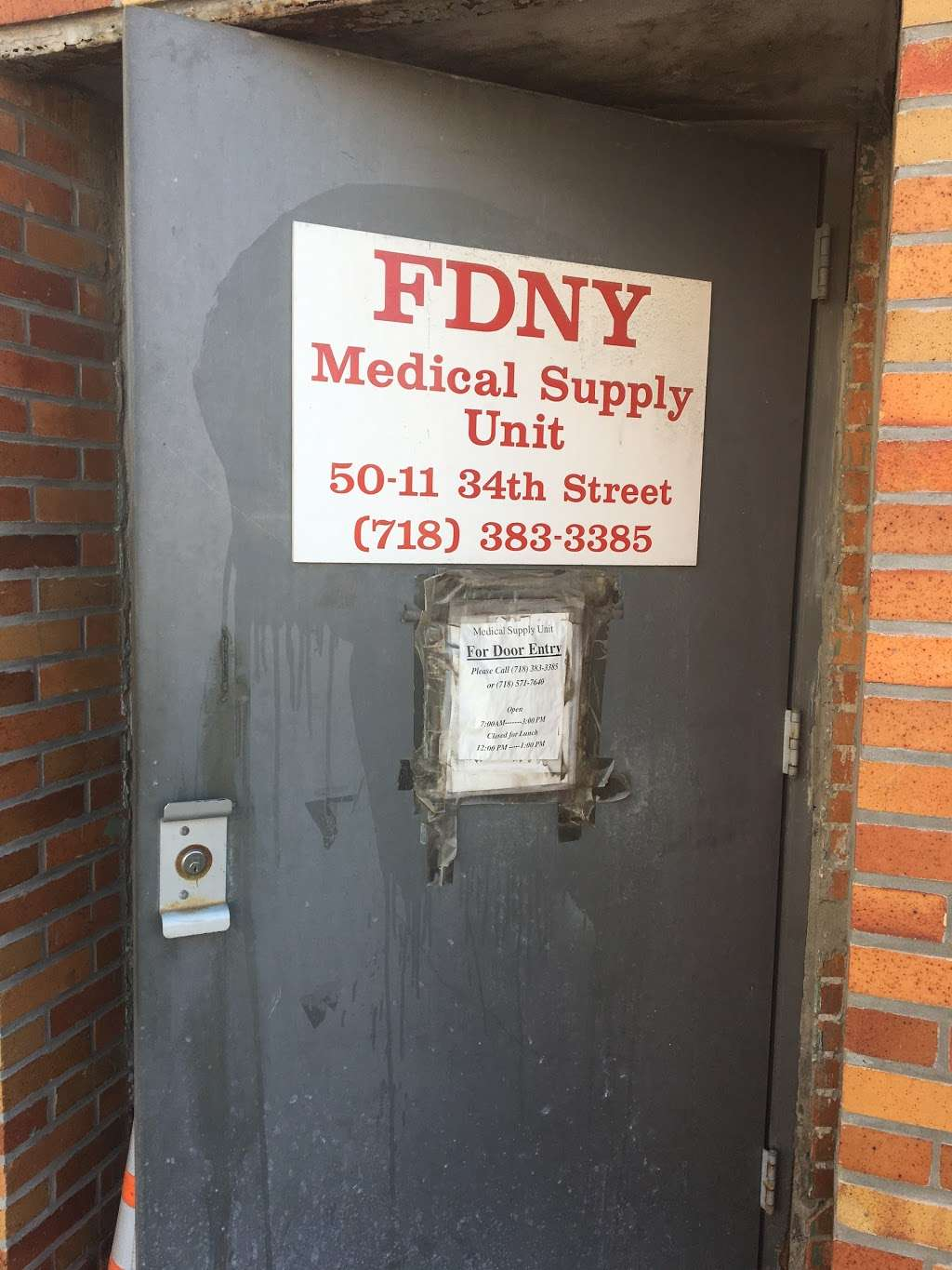 FDNY Medical Supply Unit - storage  | Photo 1 of 1 | Address: 3424 Hunters Point Ave, Long Island City, NY 11101, USA | Phone: (718) 571-7640