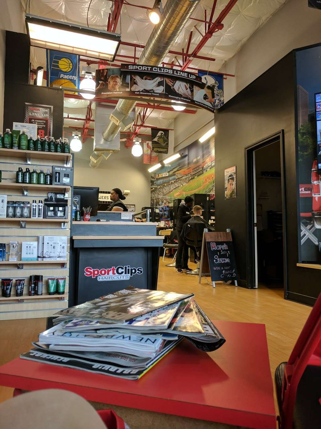 Sport Clips Haircuts of German Church Shops - hair care  | Photo 2 of 10 | Address: 10935 E Washington St, Indianapolis, IN 46229, USA | Phone: (317) 897-9674