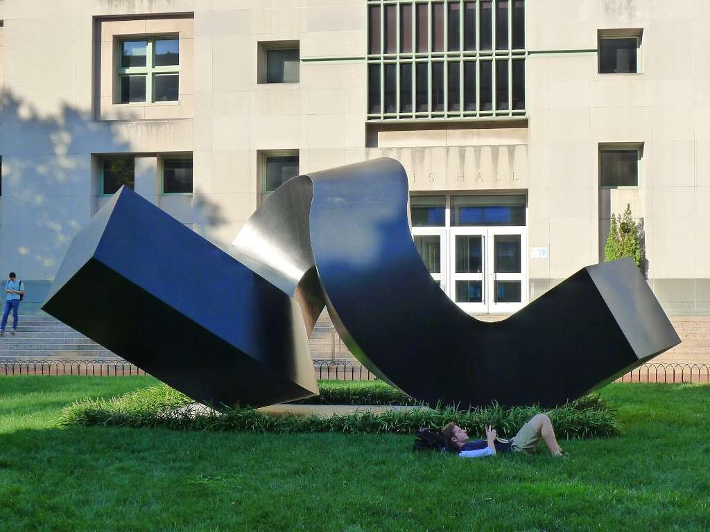 Clement Meadmore - The Curl - park  | Photo 5 of 8 | Address: 3022 Broadway, New York, NY 10027, USA