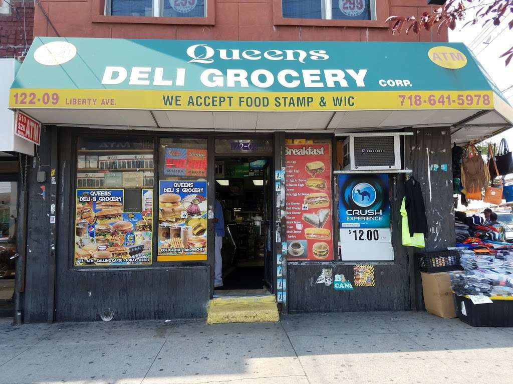 Queens Deli - store  | Photo 2 of 2 | Address: 122-09 Liberty Ave, South Richmond Hill, NY 11419, USA | Phone: (718) 845-2626