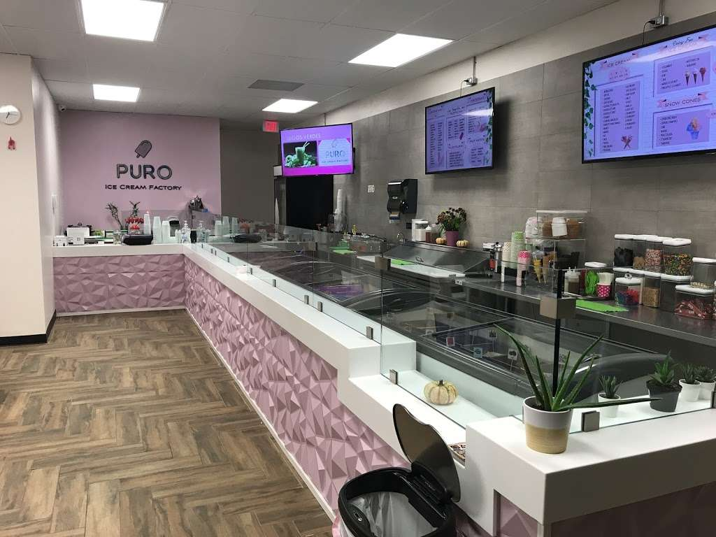 PURO - Ice Cream Factory - cafe  | Photo 5 of 10 | Address: 2772 Davie Blvd, Fort Lauderdale, FL 33312, USA | Phone: (754) 214-5800