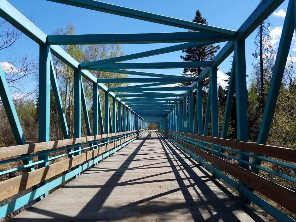 Far North Bicentennial Park - park  | Photo 5 of 10 | Address: 4970 Campbell Airstrip Rd, Anchorage, AK 99507, USA | Phone: (907) 343-4355