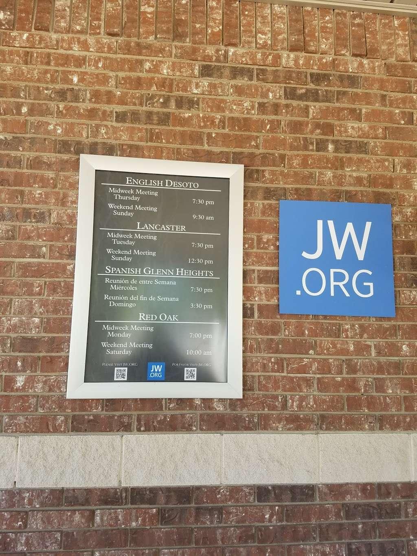 Kingdom Hall of Jehovahs Witnesses - church  | Photo 2 of 6 | Address: 1636 S Uhl Rd, Glenn Heights, TX 75154, USA | Phone: (972) 217-1914