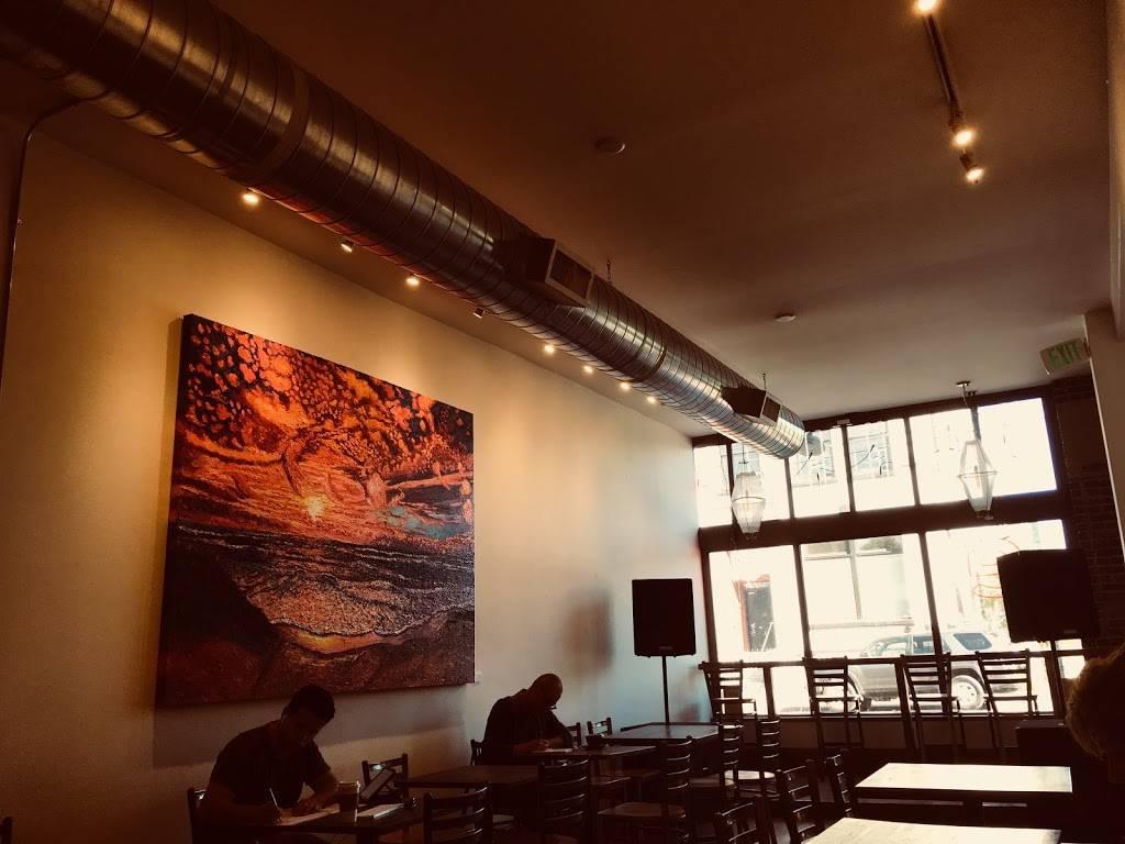 red e café roasters - art gallery  | Photo 3 of 10 | Address: 1006 N Killingsworth St, Portland, OR 97217, USA | Phone: (503) 998-1387