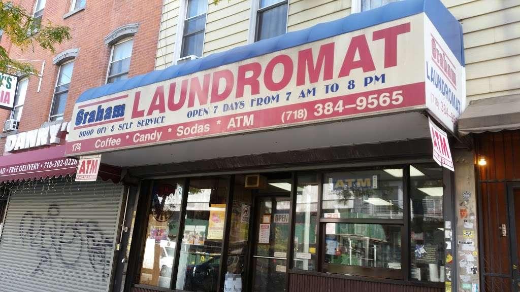 Graham Laundromat - laundry  | Photo 2 of 2 | Address: 174 Graham Ave, Brooklyn, NY 11206, USA