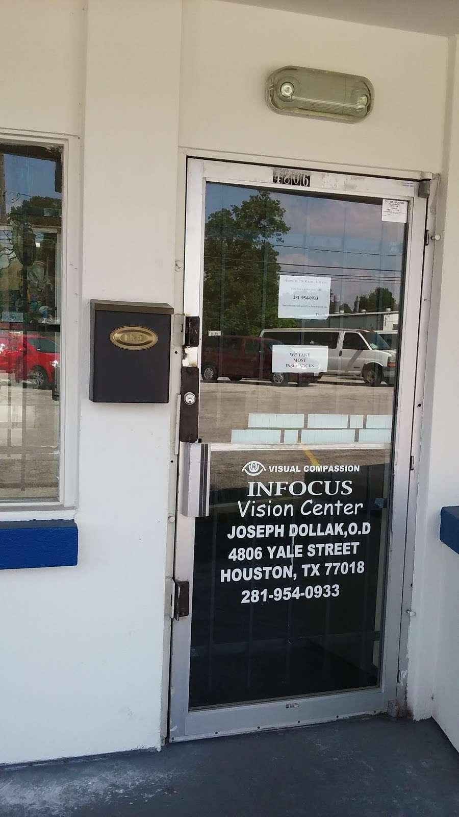 InFOCUS - doctor    Photo 2 of 3   Address: 4806 Yale St, Houston, TX 77018, USA   Phone: (281) 954-0933