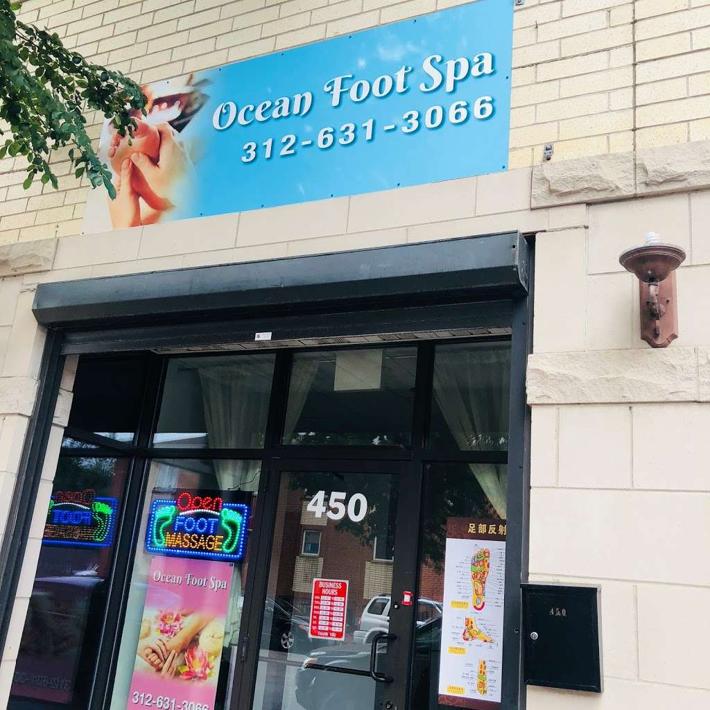 Ocean Foot Massage - health  | Photo 2 of 2 | Address: 450 W 23rd Pl, Chicago, IL 60616, USA | Phone: (312) 631-3066