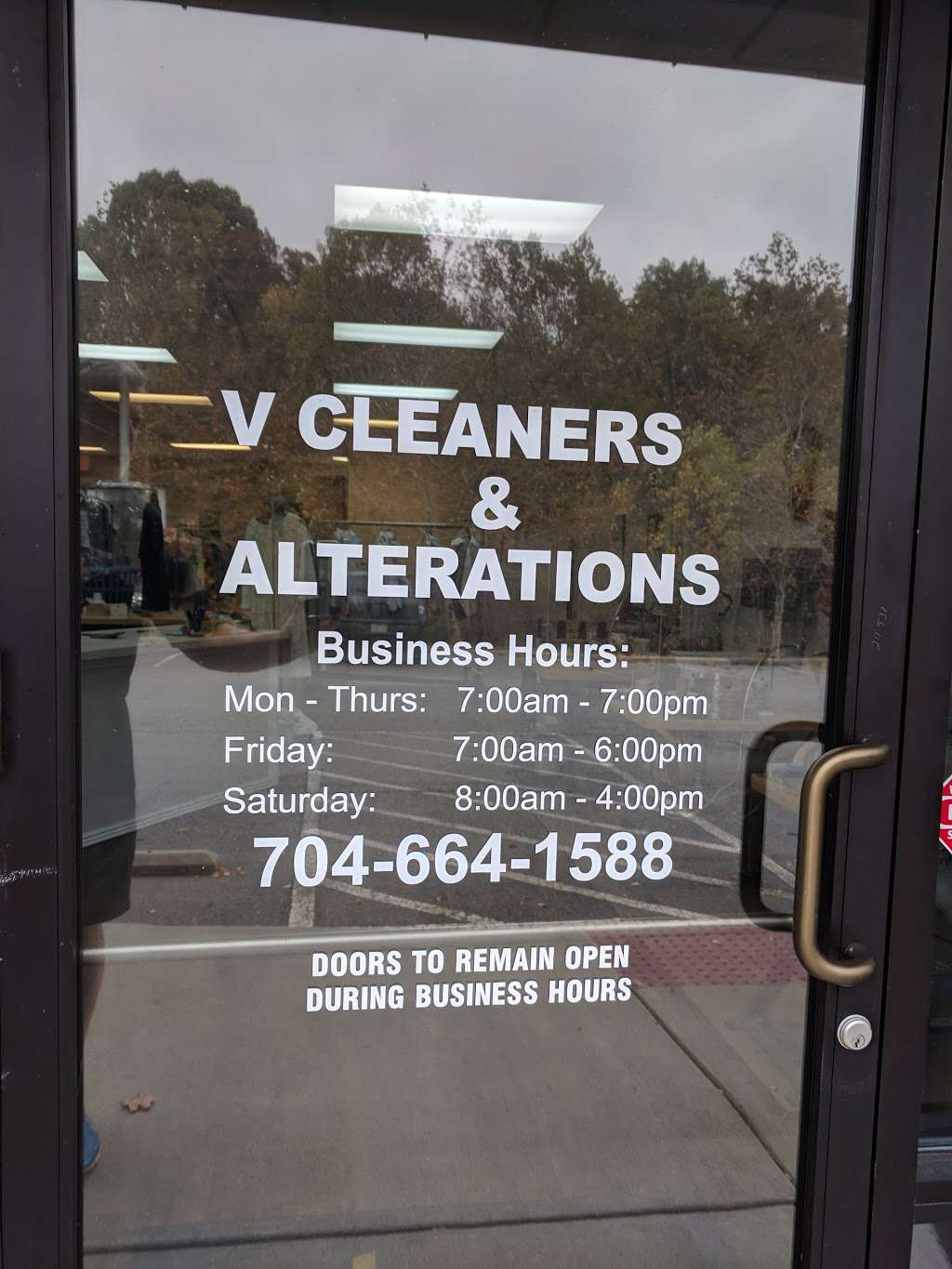 V-Cleaners & Alterations - laundry  | Photo 2 of 5 | Address: unit d, 736, Brawley School Rd, Mooresville, NC 28117, USA | Phone: (704) 664-1588