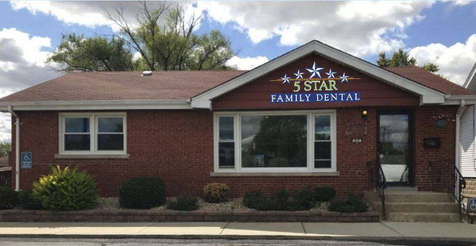 5 Star Family Dental - dentist    Photo 1 of 5   Address: 615 E 162nd St, South Holland, IL 60473, USA   Phone: (708) 331-1900