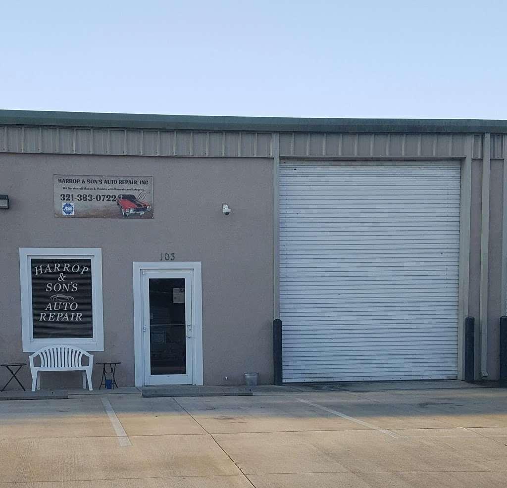 Harrop & Sons Auto Repair Inc. - car repair  | Photo 5 of 6 | Address: 3480 Bobbi Ln #103, Titusville, FL 32780, USA | Phone: (321) 383-0722