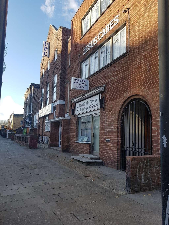 Universal Pentecostal Church - church    Photo 7 of 10   Address: 20 Acre Ln, Brixton, London SW2 5SG, UK   Phone: 020 7738 5566