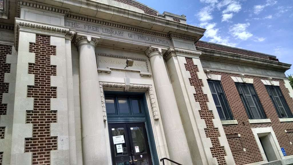 Kingsessing Library - library  | Photo 3 of 8 | Address: 1201 S 51st St, Philadelphia, PA 19143, USA | Phone: (215) 685-2690