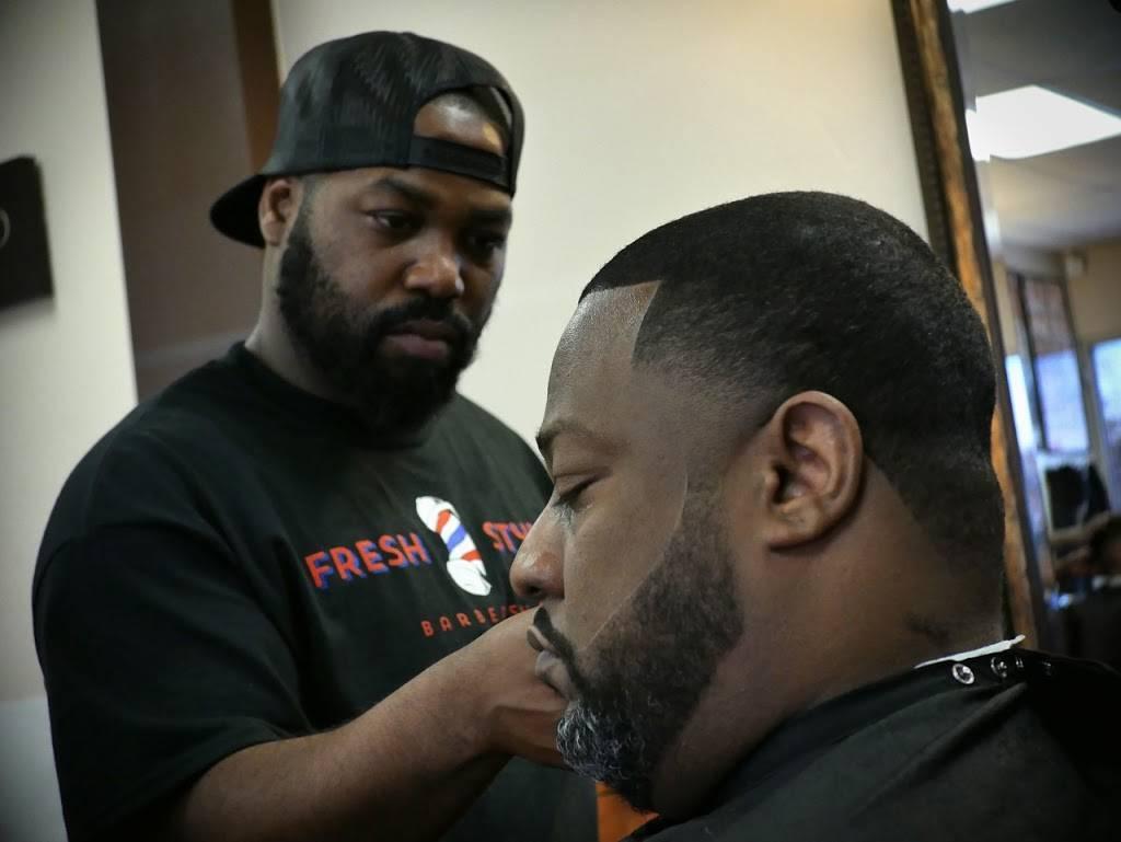 Fresh Styles Barbershop - hair care  | Photo 8 of 8 | Address: 3200 S Cooper St, Arlington, TX 76015, USA | Phone: (817) 468-3990