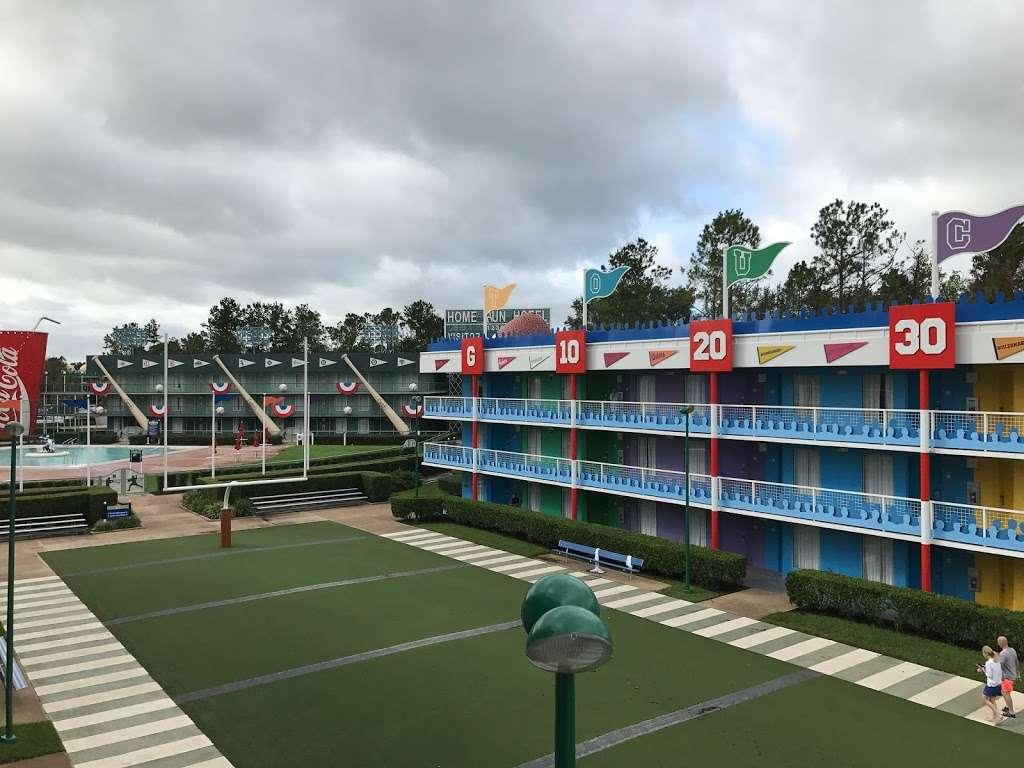 Disneys All-Star Sports Resort - bus station    Photo 1 of 10   Address: Bay Lake, FL 34747, USA