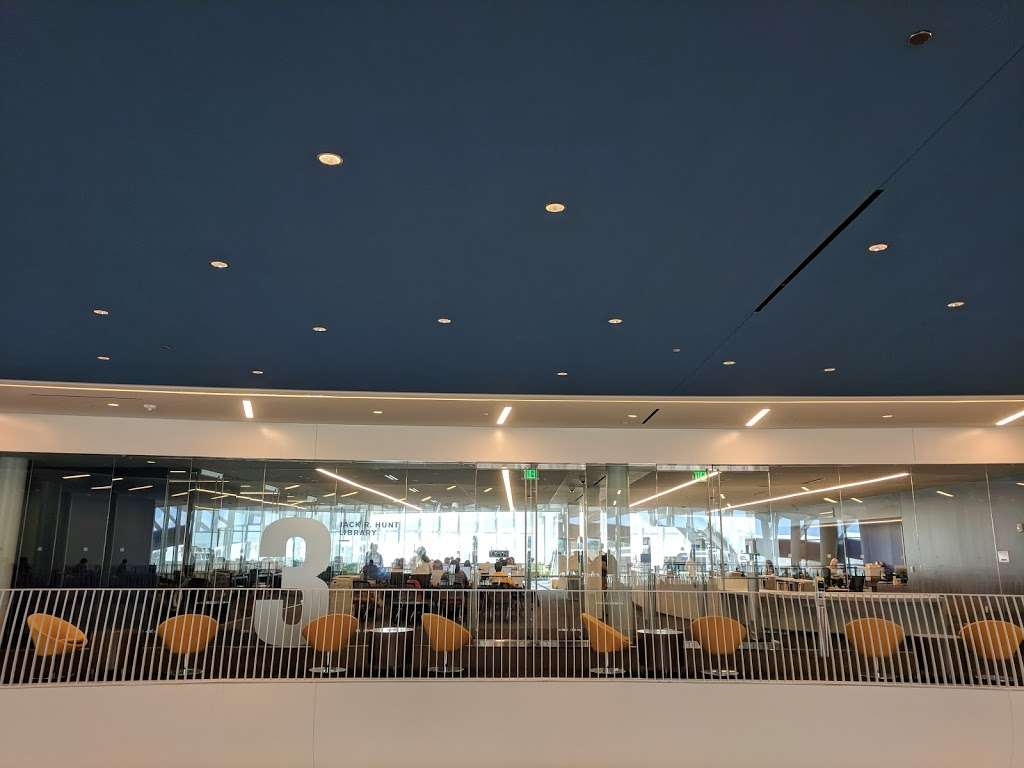 Jack R. Hunt Library - library  | Photo 10 of 10 | Address: 1 Aerospace Blvd, Daytona Beach, FL 32114, USA | Phone: (800) 678-9428